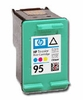 hewlett packard c8766wn (hp 95) empty tri-color inkjet cartridges