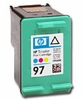 hewlett packard c9363wn (hp 97) empty tri-color inkjet cartridges